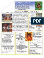 Murugan Temple Newsletter - July, August, September 2009