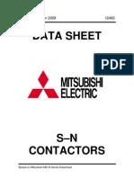 Mitsubishi S-N Contactors
