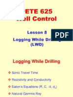 8. Logging While Drilling