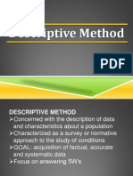 Descriptive Method - Group 3.Docx