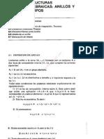 Tema 6 Estructuras Algebraicas, Anillos y Cuerpos