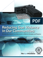 IACP and the Joyce Foundation Gun Violence Reduction Guide 2011
