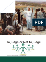 To Judge or Not to Judge Powerpoint