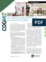 How Advanced Analytics Will Inform and Transform U.S. Retail
