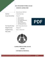 Laporan - Praktikum - Kr 01 - Dimas Prasetya - 1106052410