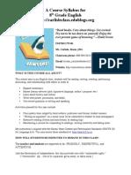 A Course Syllabus12.13