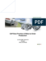 SAP Best Practise of Make-To-Order Production(Schaeffler)