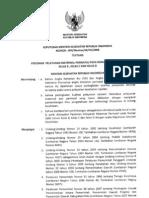 KMK No. 604 Ttg Pedoman Pelayanan Maternal Perinatal Pada Rumah Sakit Umum Kelas B, Kelas C Dan Kelas D