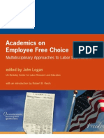 Academics on Employee Free Choice
