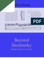 Beyond Slonimsky