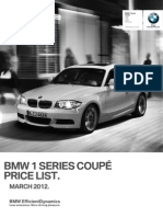 E82 1 Series Coupe March2012