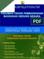 1. Permen PU 45 Tahun 2007
