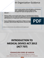 Introduction to Medical Act 2012_Act 737_MOH Presentation