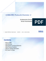 GSM GPRS Protocols Overview