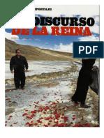 """""""El Discurso de La Reina"""" Revista Somos Año XXV N°1337 - 21 julio 2012"""