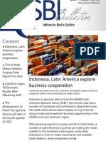 Strategic Business Insight E-bulletin - 2