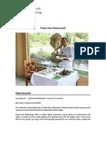 About Tsavo Lion Restaurant - En