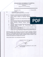 4. Kepmendiknas Nomor 015 Tahun 2009