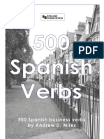 500 Verbos Spanish to English