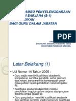 6. Powerpoint Rambu-Rambu Peny Program S-1 Kependidikan