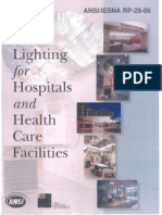 RP-29-06 Lighting for Hospitals and Health Care Facilities