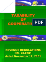 Cooperatives Taxability & Tax Exemption