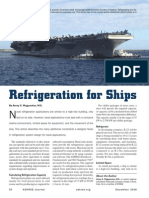 Refrigeration for Ships