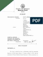 GR No. 202242, Chavez v. JBC, July 17, 2012