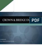 Crown & Bridge Failure