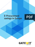 Eprocurement Savings
