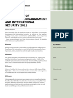 Chronology of armaments, disarmament and international security 2011