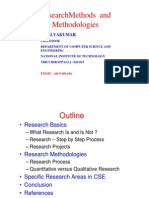 Ssk NIT Research Methods