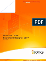 Share Point Designer 2007 Product Guide
