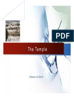 The Temple Lecture