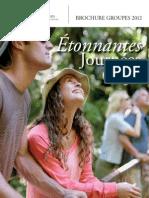 Guide Tourisme Groupe Mayenne 2012