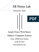 Computer Science Project | Microsoft Access | Databases