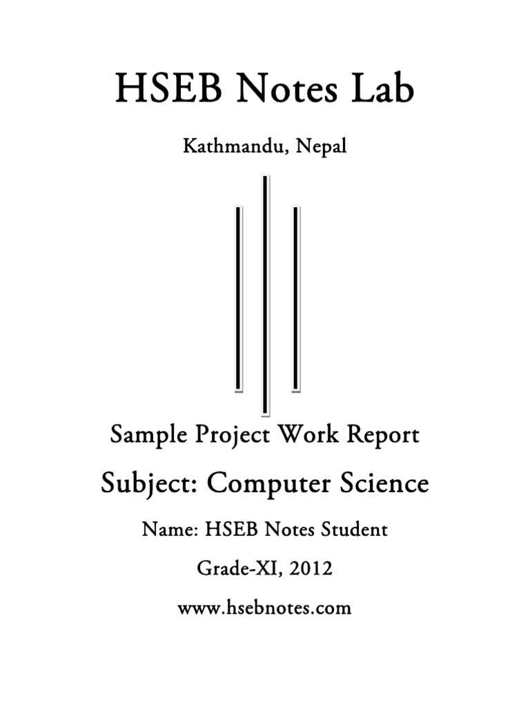 computer science project work  grade 11