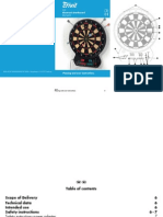 Electronic Dartboard DS-1435