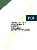 NP 024 - 1997 Parcajer Etajate Pentru Autoturisme