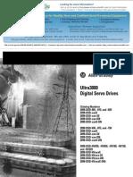 Allen Bradley Ultra3000 Installation Manual