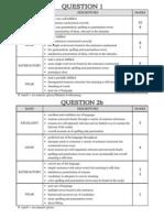 English UPSR Paper 2 Marking Guides
