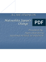 MATHUSHITA CASE ON JAPANS CULTURAL CHANGE