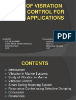 vibration control in marine applications