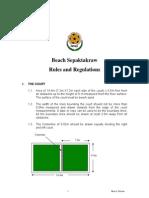 Beach Takraw Rules