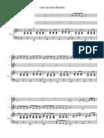Vois Sur Ton Chemin - Score and Parts