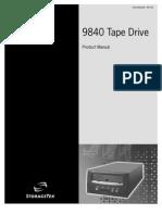 9840 Tape Drive Manual