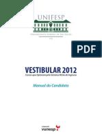 Manual Unifesp 2012