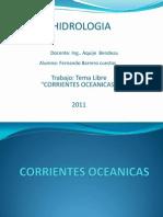 Corrientes Oceanica