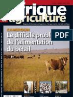Afrique Agriculture N° 389 - JUILLET-AOÛT 2012