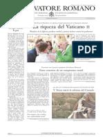 L´OSSERVATORE ROMANO. 22 Julio 2012
